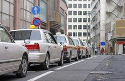 japanska cabs Arkivbilder