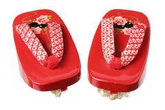 Japanska Clogs Royaltyfria Bilder
