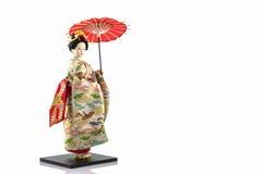 Japanska geishadockor Arkivfoton