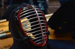 """Japanska kampsporter för Kendo †"""" Royaltyfri Bild"""