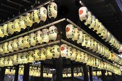 Japanska lampions Arkivbild