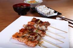 Japansk matlagning Arkivbild
