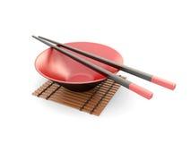 japanska pinnar Arkivfoton