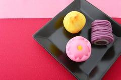 Japanska sötsaker arkivfoto