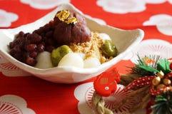 Japanska sötsaker för dag för nytt år s Fotografering för Bildbyråer