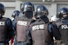 Japanska speciala poliser Arkivfoton