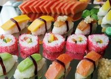 japanska sushi Royaltyfria Bilder