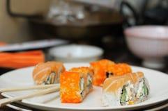 Japanska sushi Royaltyfri Fotografi