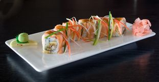 japanska sushi Royaltyfria Foton