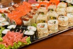 japanska sushi Royaltyfri Foto