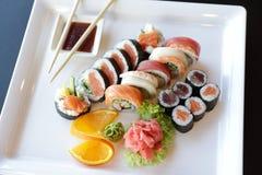 japanska sushi Arkivbild