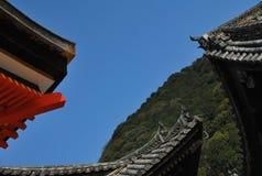 japanska tak arkivbilder