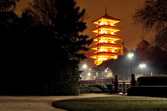 japanska torn Royaltyfri Fotografi