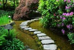 japanska trädgårds- trädgårdar för butchart royaltyfri bild