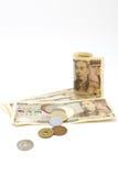 Japanska yen Royaltyfria Foton