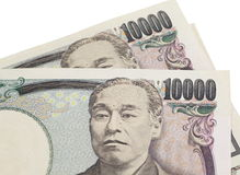 japanska yen Royaltyfri Fotografi