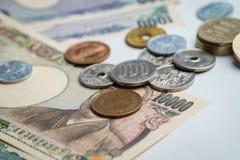 japanska yen Arkivbilder