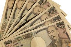japanska yen Arkivfoto
