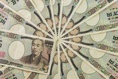 japanska yens Royaltyfri Fotografi