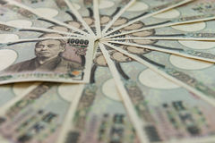 japanska yens Arkivfoton