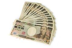japanska yens Arkivfoto