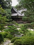 Japanskt antikt hus Royaltyfria Bilder