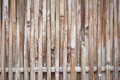 Japanskt bambustaket Arkivbild