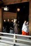 japanskt bröllop Arkivbild