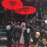 japanskt bröllop Fotografering för Bildbyråer