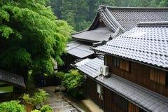 Japanskt hus Arkivbild