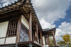 Japanskt hus arkivbilder