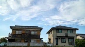 Japanskt hus royaltyfri fotografi