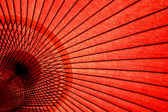 japanskt orientaliskt paraply Arkivbild