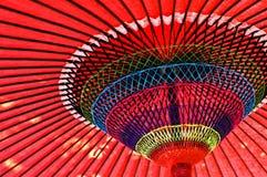 japanskt paper paraply Arkivbild