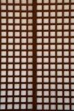 japanskt paper skärmshojifönster Arkivfoton