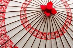 japanskt paraply Arkivfoto