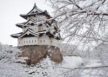 Japanskt slott Arkivbilder
