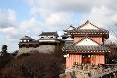 Japanskt slott Arkivbild