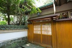 Japanskt staket Arkivfoton