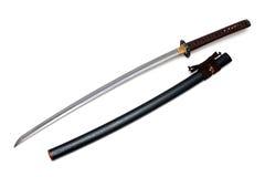Japanskt svärd och slida Royaltyfria Foton
