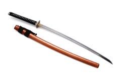 Japanskt svärd och slida Royaltyfri Fotografi