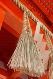 Japanskt tempelrep Arkivbild