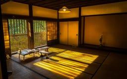 Japanskt traditionellt rum Fotografering för Bildbyråer