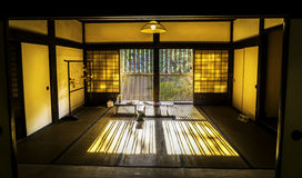 Japanskt traditionellt rum Arkivfoto