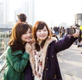 Japanskt turisttagande Royaltyfria Foton