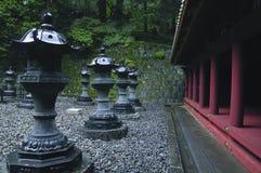 japanskt utomhus- tempel Royaltyfri Foto