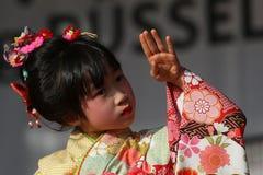 2016 Japantag DÃ ¼ sseldorf Duitsland Stock Foto's
