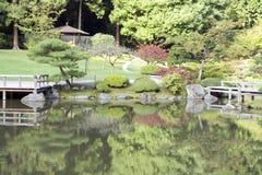 Japanträdgård Royaltyfria Foton