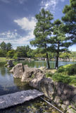 Japanträdgård, Nagoya, Japan arkivfoton