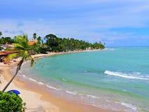 Japaratinga, Pernambuco, Brasilien Gro?e Landschaft! lizenzfreie stockfotos